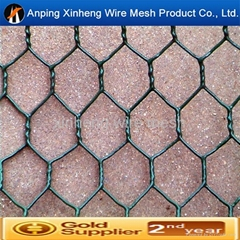 pvc or galvanized hexagonal wire mesh