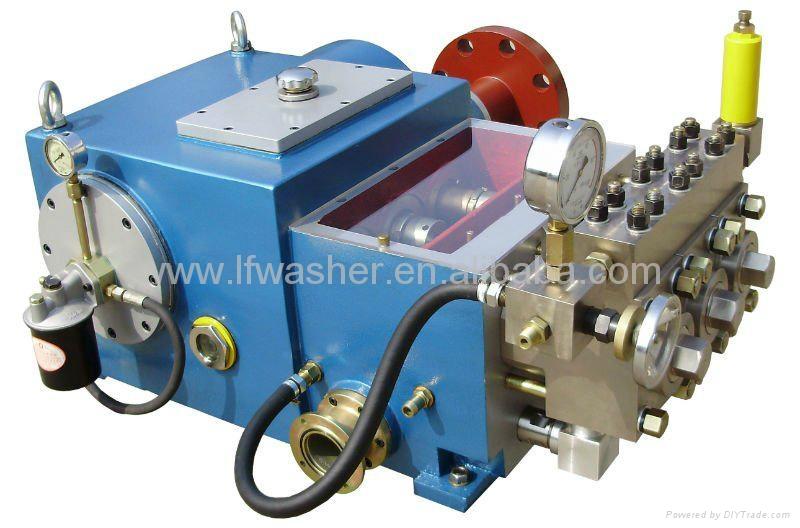 High Pressure Piston Pump : High pressure pump lf triplex plunger