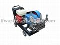 15 HP gasoline power pressure washer