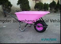 Plastic wheel barrow WB6400