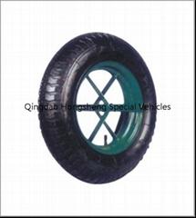 橡胶轮子,气胎轮子轮胎350-8