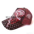 三角纹棒球帽