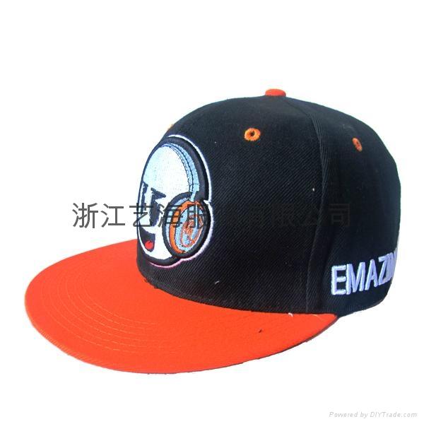 毛球棒球帽 1