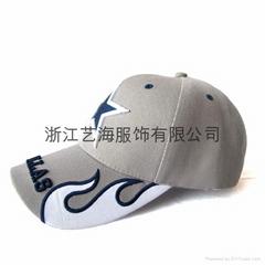 五角星棒球帽