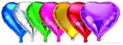 heart foil helium balloon party decoration