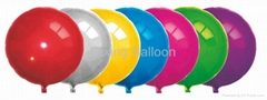round shape foil helium balloon party decoration