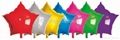 star shape foil helium balloon party