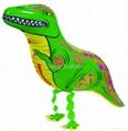 walking dinosaur foil balloon helium balloon  1