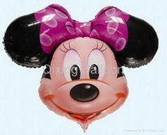 Mickey minnie foil balloon promotion balloon
