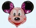Mickey minnie foil balloon promotion balloon 2