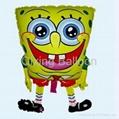 spongebob foil balloon cartoon helium balloon  1