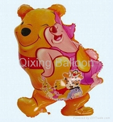 winnie foil balloon disney balloon promotion balloon