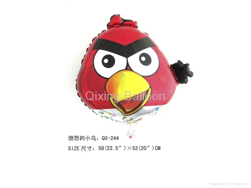 angry bird angry pig foil balloon helium balloon 1