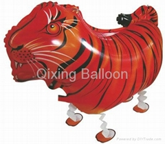 walking pet foil balloon