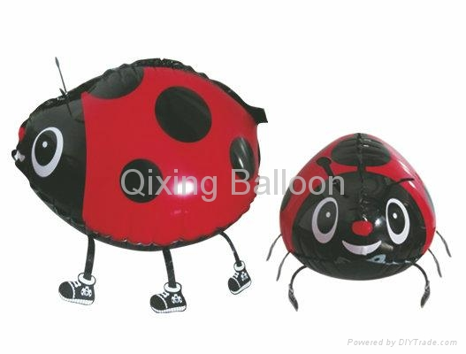 walking pet foil balloon 5