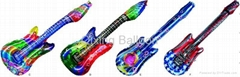 guitar foil balloon helium balloon