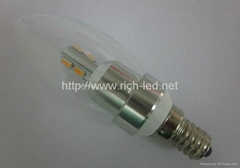 led Candle light bulb/crystal lamp smd5630 series