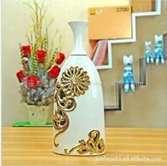 外貿原單鏤空陶瓷花瓶