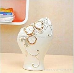 陶瓷工艺品花瓶摆件07022