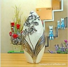 欧式现代落地花瓶