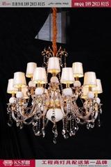 凱奢燈飾酒店大堂水晶吊燈