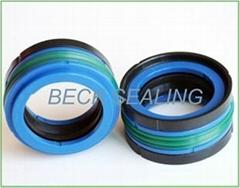 custom extruded rubber DAS seals