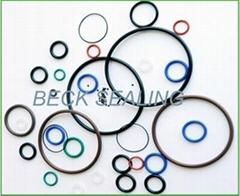 high pressure AS568/JIS2401 rubber o ring seal