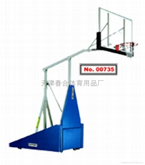 00735-208 弹簧助力升降篮球架