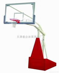 41535-108 手动折叠升降篮球架