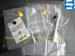 Bag-in-Box with Corner Spout Bag Making Machine