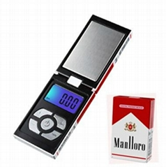 650g/0.01g High Accuracy Cigarette Case Style Portable Digital Pocket Scale
