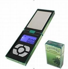 650g/0.1g Cigarette Case Style Night Club Popular Digital Pocket Powder Scale