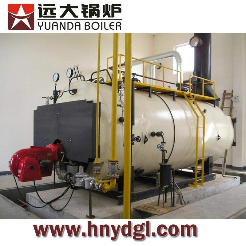Industrial natural gas fired steam boiler - China - Manufacturer -