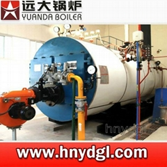 Industrial diesel oil fired steam boiler