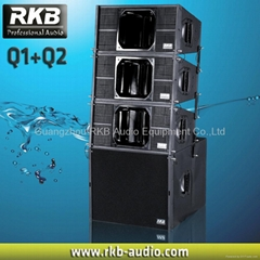 Dual 10 inch Mini line array
