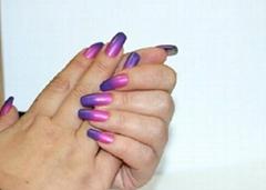 UV LED soak off Nail Gel Polish Magic Mood Changing Chamelon Color Gel