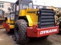 used road roller Dynapac CA30 for sale with sheepfoot