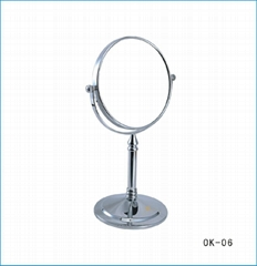 stainless steel cosmetic mirror wall-mounted 8 inch and 6 inch