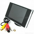 Car reverse monitor 3.5 inch TFT LCD screen
