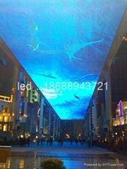 科倫特研發生產天幕led顯示屏