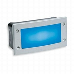 led wall step light