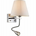 hilton switched wall light with reading light 1