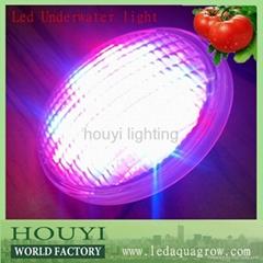 low powe252led 18W LED Underwater swimming pool lights led par56 bulb rgb/white