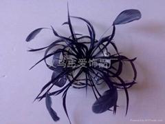 sinamay feather fascinator SFC1147