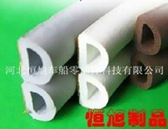 供应优质的自粘D型、P型、E型发泡密封条