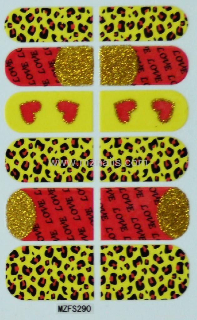 3D Nail Polish Stickers 2