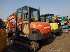 二手斗山DH60-7挖掘機