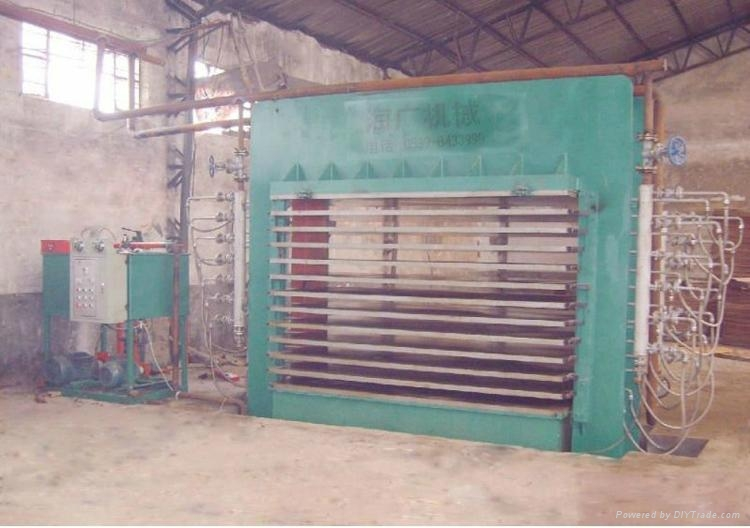 Manual operating Large -Press Hot stamping machine  3