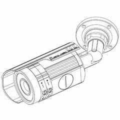 60mm可调焦距防水机外壳