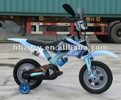 Children bicycle motorcycle style kids bike
